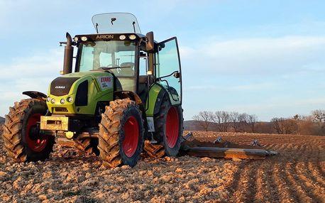 45 nebo 75 min. jízdy na traktoru pro 1 osobu