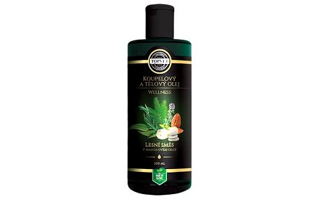 Topvet Koupelnový a tělový olej lesní směs 200 ml