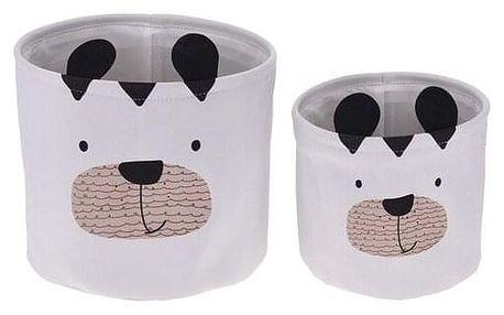 Sada dekoračních košíků Hatu Pes, 2 ks