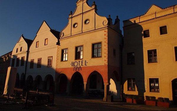 Slavonice - Hotel PIVOŇKA, Česko