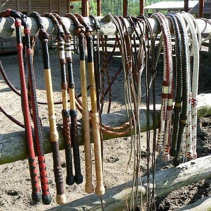 Kurz práskání bičem pro děti i dospělé