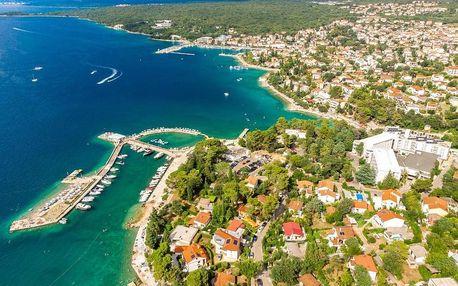 Chorvatsko, Krk: Hotel Malin