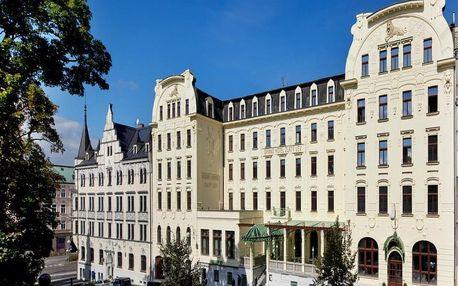 Luxusní pobyt plný zážitků v centru Liberce + polopenze 3 dny / 2 noci, 2 osoby, polopenze