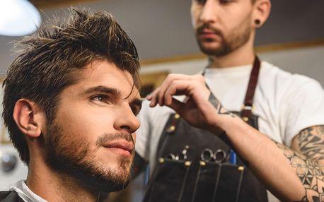 Pánský střih fade, vousy i kompletní barber péče
