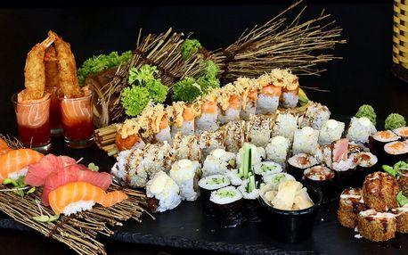 Sushi set Kiyoko: ryby a krevety, 52 ks