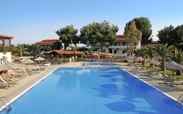 Hotel Blue Dolphin, Chalkidiki, Řecko, Chalkidiki, letecky, polopenze2