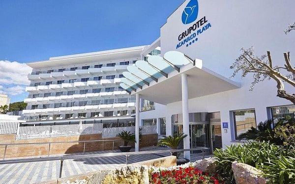 Grupotel Acapulco Playa, Mallorca, Španělsko, Mallorca, letecky, snídaně v ceně3