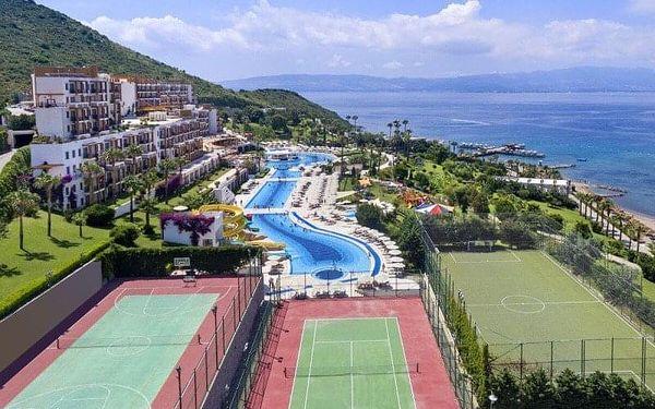 Kefaluka Resort Hotel, Egejská riviéra, Turecko, Egejská riviéra, letecky, all inclusive5