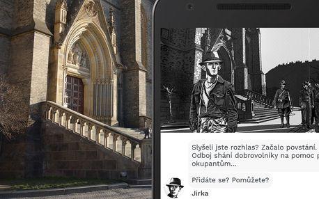 Venkovní šifrovací hra Pražské povstání až pro 8 os.