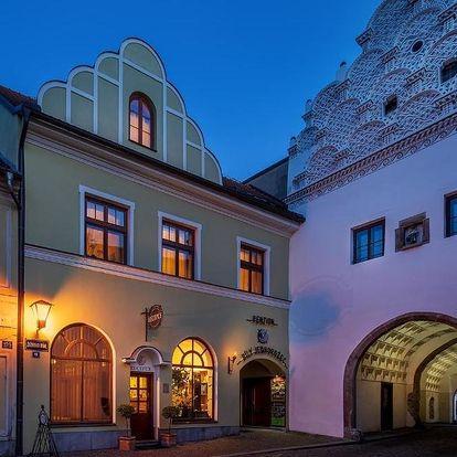 Třeboňsko: Hotel Bílý jednorožec