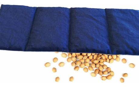 Bederní nahřívací polštářek s třešňovými peckami 20 x 55 cm