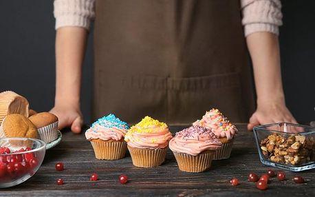 Cukrářský kurz: Výroba cupcakes pro děti i dospělé