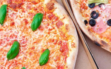 1–2 pizzy o průměru 32 cm: na výběr z mnoha druhů