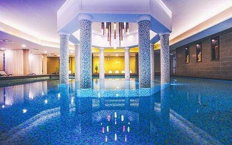Bükfürdo: Caramell Premium Resort **** s neomezeným wellness o rozloze 2 000 m², klubem pro děti a polopenzí