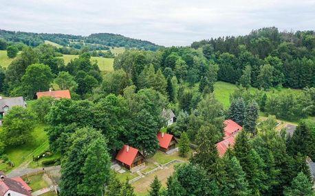 Lužické hory: Chatky Lesná