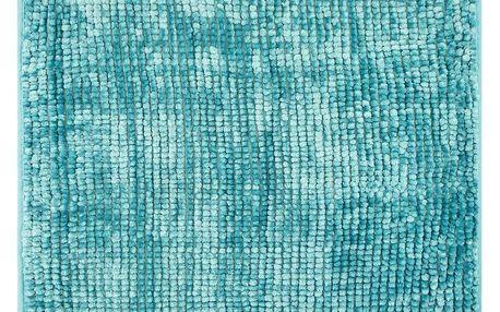 AmeliaHome Koupelnová předložka Bati modrá, 70 x 120 cm