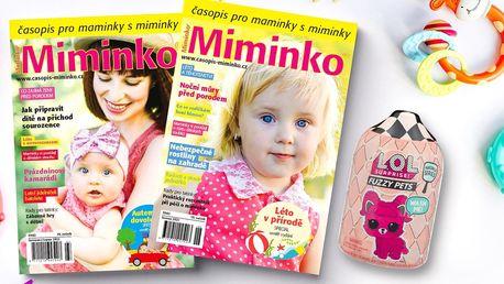 Roční předplatné časopisu Miminko s dárkem