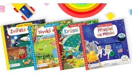 Knihy s pohyblivými prvky pro děti od 1 roku