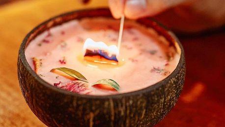 Veganské svíčky se sójovo-řepkovým voskem, 15 vůní