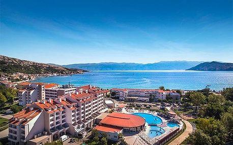 Chorvatsko - Baška na 3-15 dnů