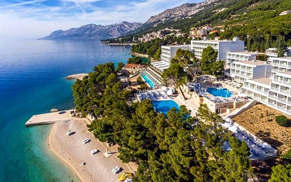 Chorvatsko - Brela na 4-15 dnů