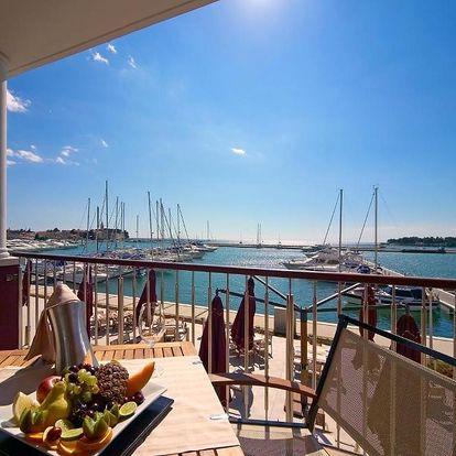 Chorvatsko, Novigrad: Hotel Nautica by Stefano Cosattini - 2 Michelin star Executive Chef