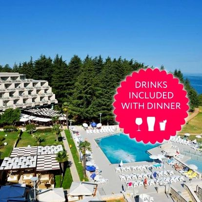 Chorvatsko, Poreč: Hotel Mediteran Plava Laguna