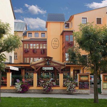 Krušné hory: Wellness Hotel Ida
