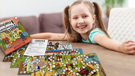 Vzdělávací desková hra Vzhůru na matematiku!