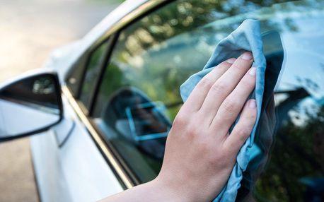 Čištění exteriéru i interiéru vozidla přímo u vás doma