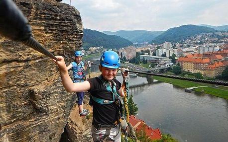 Dva dny na Pastýřské stěně – nejdelší via ferratě Česka