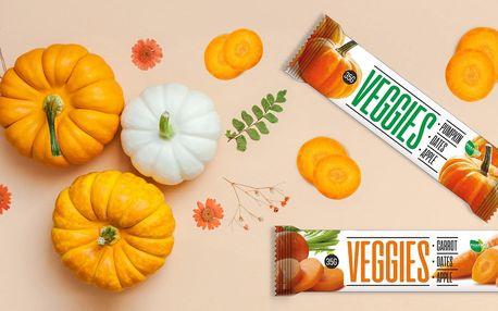100% přírodní tyčinky Veggies: zdravá svačina i mls