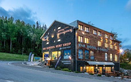 Aktivní odpočinek v moderním hotelu v Krkonoších