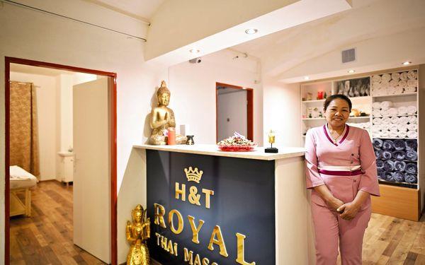 Královská olejová nebo klasická thajská masáž, 60 minut3