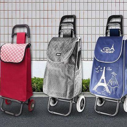 Praktické nákupní tašky na kolečkách
