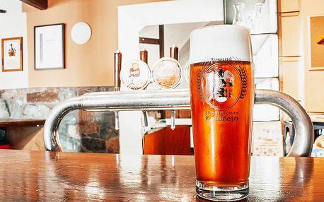 Pobyt na Kolštejně s pivní péčí
