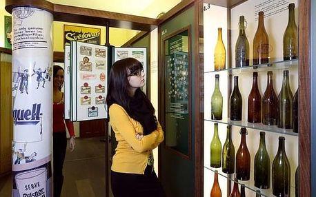 Prohlídka pivovarského muzea v Plzni s ochutnávkou piva