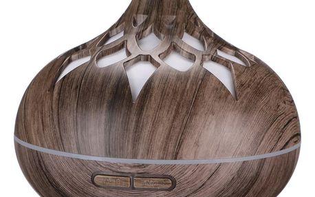 Sixtol Aroma difuzér Palm šedé dřevo, 500 ml