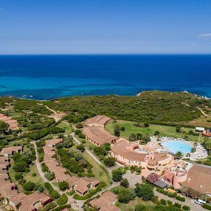 Itálie - Sardinie: Sant'Elmo Beach Hotel