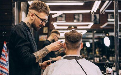 Střih, holení či oboje v barber shopu v centru Prahy