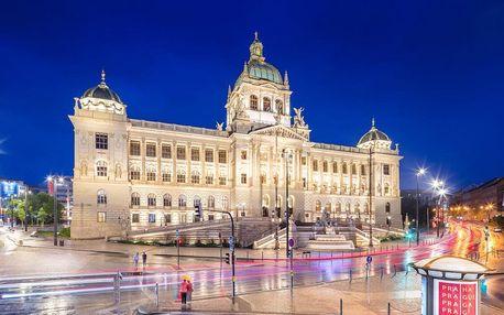 5* pobyt v Praze: luxus na Václavském náměstí 3 dny / 2 noci, 2 osoby, snídaně
