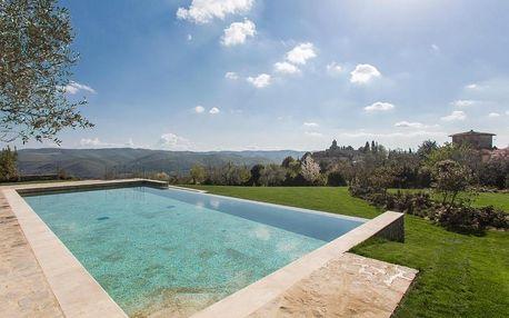 Itálie - Toskánsko: Villa Le Barone