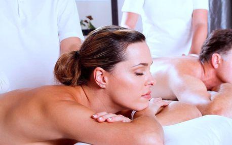 Víkendová relaxace pro pár: výběr ze 7 druhů masáží