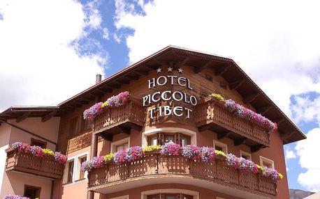 Itálie - Italské Alpy: Hotel Piccolo Tibet