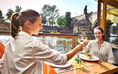Otevřený voucher do restaurace Charles Bridge