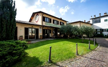 Itálie - Toskánsko: Corte Dell' Oca