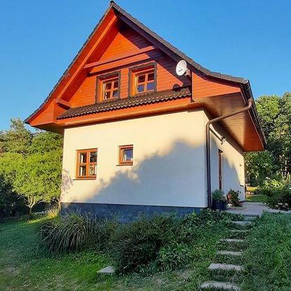 Zlínský kraj: Chata nad lázeňským údolím