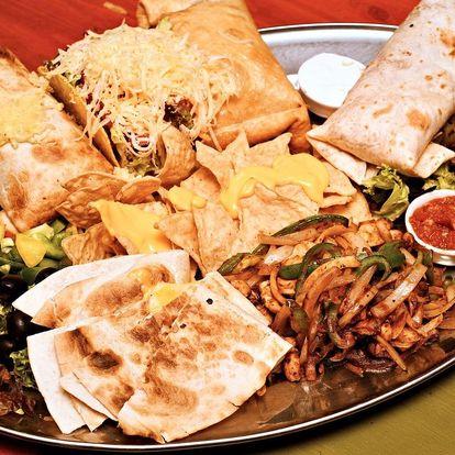 Degustační mexické menu pro 2 osoby
