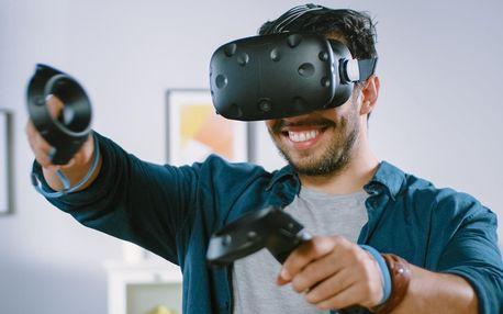 Půjčení setu na virtuální realitu a 10 her na 2 dny
