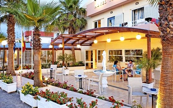 Hotel Triton, Kréta, letecky, polopenze2